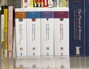 Photo of all four volumes